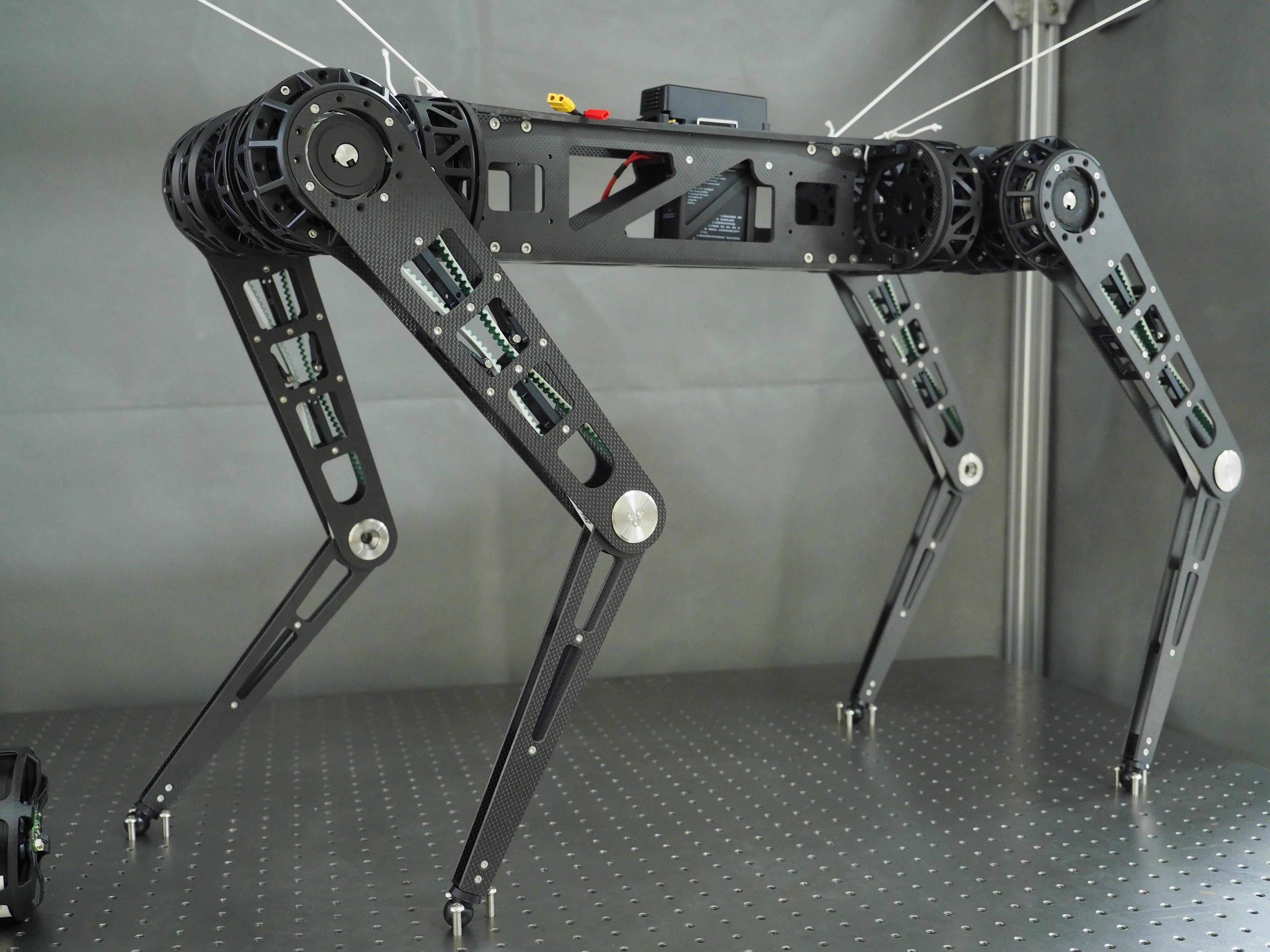 New Quadruped Robot 2019