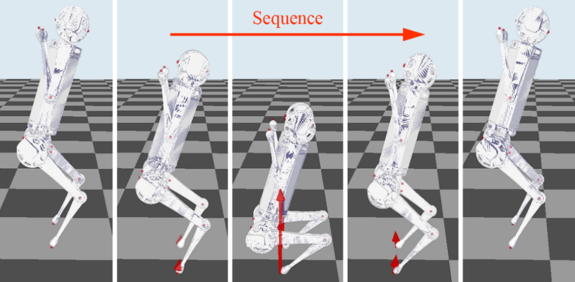 """""""Quadruped Robot Hopping on Two Legs"""" accepted by IROS 2021"""