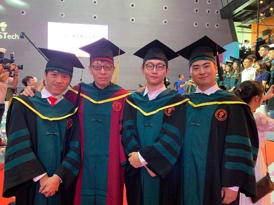 Graduated! Congratulations!