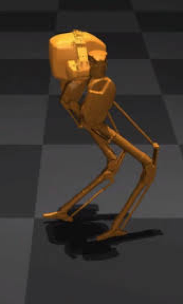 """""""Hybrid Zero Dynamics Inspired Feedback Control Policy Design for 3D Bipedal Locomotion using Reinforcement Learning"""", ICRA, 2020."""